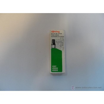 Tinta da China Verde Rotring 23ml