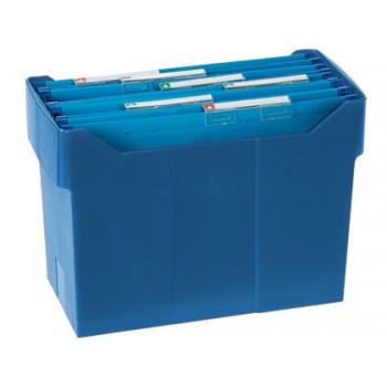 Suporte para Capas de Arquivo Suspenso Azul