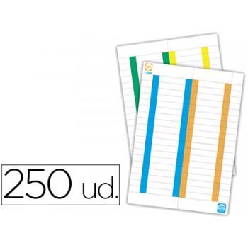 Tiras de Papel para Visores de Capas de Suspensão (250 unid.)