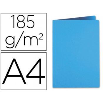 Classificador A4 Sem Ferragem 185grs Cartolina Azul Celeste
