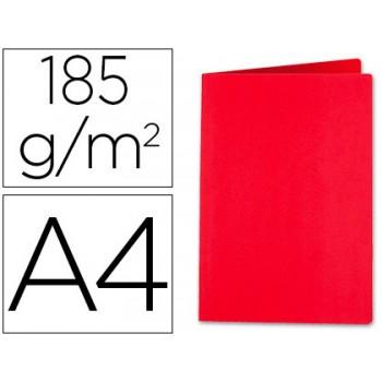 Classificador A4 Sem Ferragem 185grs Cartolina Vermelho