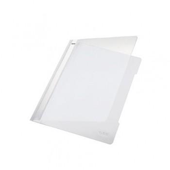 Classificador A4 com Ferragem Capa Transparente PP 4191 Branco Leitz
