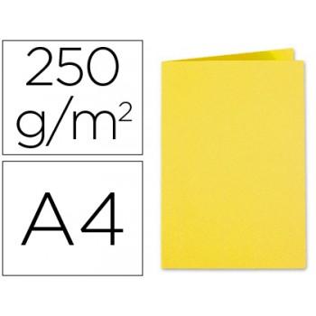 Classificador A4 Sem Ferragem 250Gr Cartolina Amarelo
