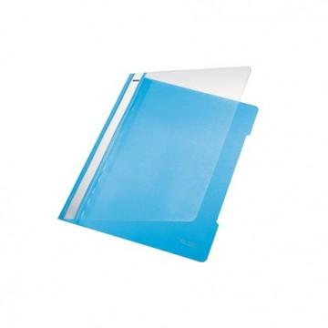 Classificador A4 com Ferragem Capa Transparente PP 4191 Azul Claro Leitz