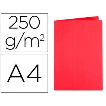 Classificador A4 Sem Ferragem 250Gr Cartolina Vermelho