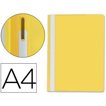 Classificador A4 com Ferragem Capa Transparente PP Amarelo
