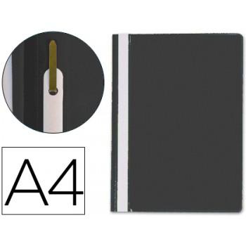 Classificador A4 com Ferragem Capa Transparente PP Preto