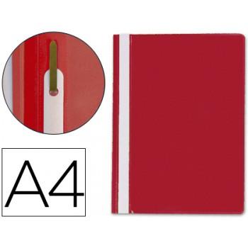 Classificador A4 com Ferragem Capa Transparente PP Vermelho