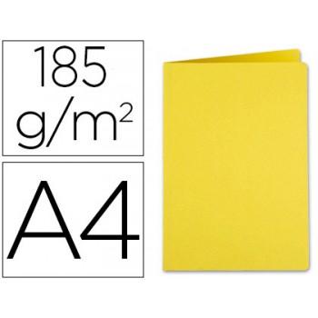 Classificador A4 Sem Ferragem 185grs Cartolina Amarelo