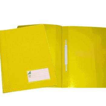 Classificador A4 com Ferragem com capa Opaca Amarela Pack 10 Unidades