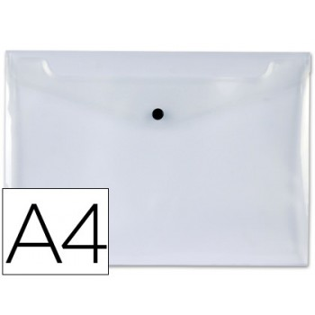 Envelope Plástico A4 com Mola Cristal