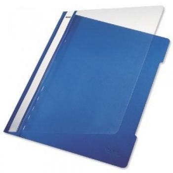 Classificador A4 com Ferragem Capa Transparente PP 4191 Azul Escuro Leitz