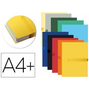 Caixa Arquivo Processos A4 Extensível até 13cm com Tira de Velcro 10 Cores Sortidas