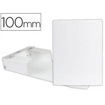 Caixa Arquivo Processos Cromolux  A4 Branca 10cm Com Mola