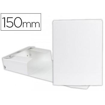 Caixa Arquivo Processos Cromolux  A4 Branca 15cm Com Mola