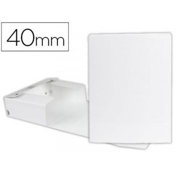 Caixa Arquivo Processos Cromolux  A4 Branca 4cm Com Mola