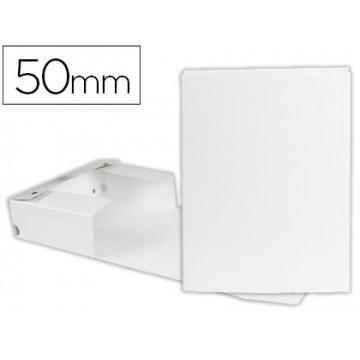 Caixa Arquivo Processos Cromolux  A4 Branca 5cm Com Mola