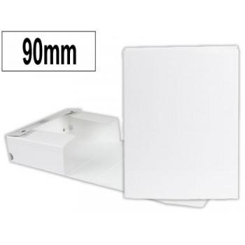 Caixa Arquivo Processos Cromolux  A4 Branca 9cm Com Mola