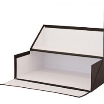 Caixa Arquivo Francês 365x280x100mm Almaço Preto
