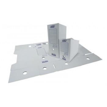 Caixa Micro Arquivador Cartão Branco 355x245x140mm