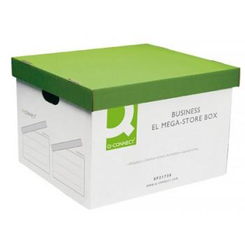 Caixa para Arquivo Definitivo Cartão Enrugado 295x383x430mm Q-Connect