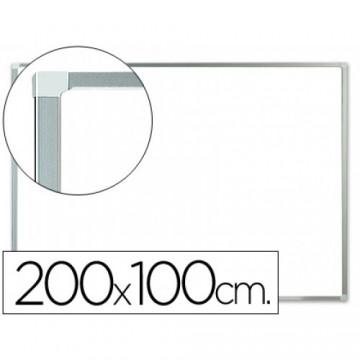 Quadro Branco Laminado 200x100cm com caixilho alumínio