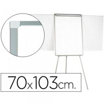 Quadro Branco Magnético com Tripé 70x103cm Lacado