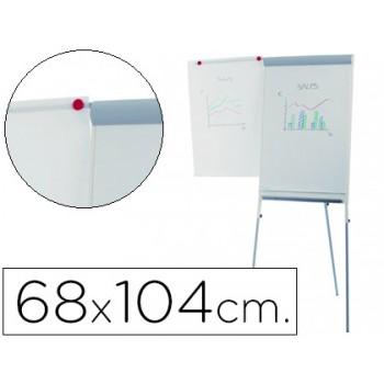 Quadro Branco Magnético com Tripé 68x104cm Lacado