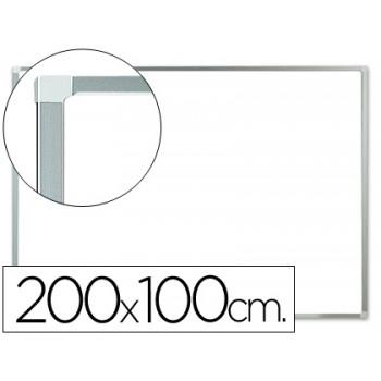 Quadro Branco Magnético 200x100 cm Lacado Q-CONNECT