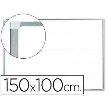 Quadro Branco Laminado 150x100cm com Caixilho de alumínio