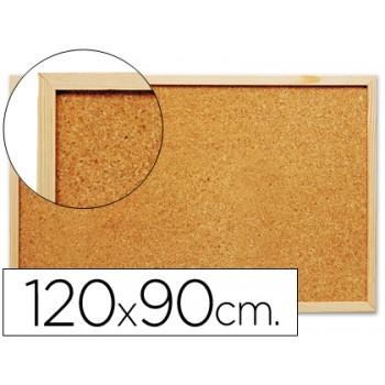 Quadro de cortiça 120x90cm com caixilho em madeira
