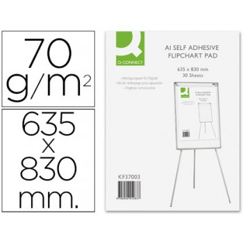 Bloco Papel Conferência 63,5x83cm 30 Folhas 70grs Auto adesivo