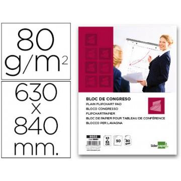 Bloco Papel Conferência 63x84cm 50 Folhas 80gr