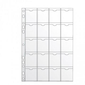 Bolsa Catálogo A4 com 20 divisões - Pack 50 unidades