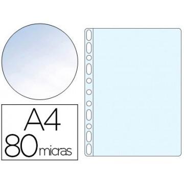 Bolsa Catálogo A4 80 Microns Cristal Q-Connect 100 Unidades