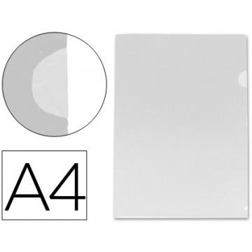 Bolsa Plástica A4 em L Transparente Incolor 180 Microns