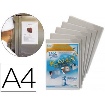 Bolsas para Apresentação A4 Magnética Rígida Anti Reflexo 5 Unidades
