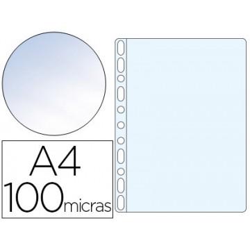Bolsa Catálogo A4 100 Microns Cristal Q-Connect 100 Unidades