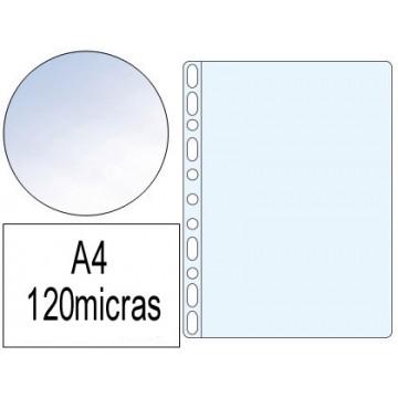 Bolsa Catálogo A4 120 Microns Cristal 100 Unidades