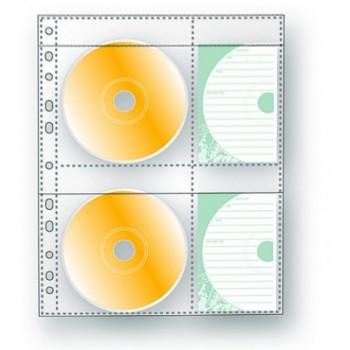 Bolsa Catálogo A4 Para 2 CD´S ou DVD´S Pack 3 Unidades