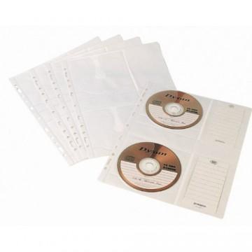 Bolsa Catálogo A4 Para 4 CD ou DVD Pack 10 Unidades