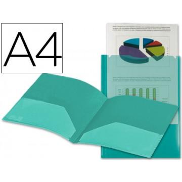 Bolsa Plástica A4 Personalizavel Com Dupla Bolsa Verde