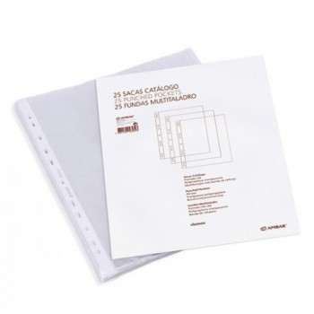 Bolsa Catálogo A4 100 Microns Ambar 25 Unidades