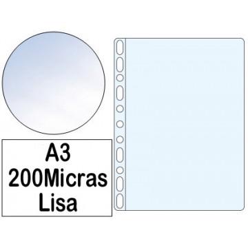 Bolsa Catálogo A3 200 microns Liso Roma 386