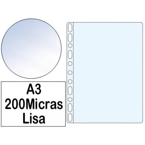ROMA - Bolsa Catálogo A3 200 microns Liso Roma 386 - Pack 50 bolsas