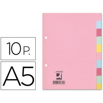 Separadores Cartolina A5 10 Posições 175grs