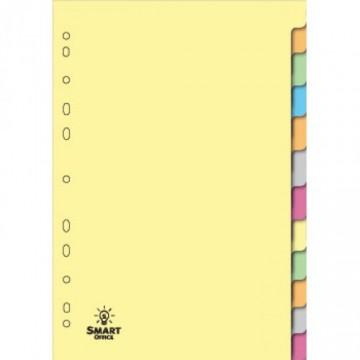 Separadores Cartolina A4 24 Posições 180grs
