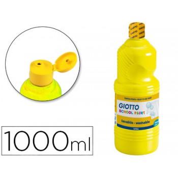 Guache 1Litro Giotto Paint Amarelo