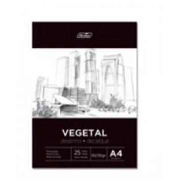 Bloco Papel Vegetal A4 50 Folhas 90-95Grs