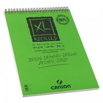 Bloco de Desenho A4 50 Folhas 160Gr Reciclado Canson